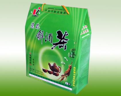 龙健葛花解酒茶